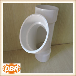 4 Inch Size Wye Type PVC Fitting pictures & photos