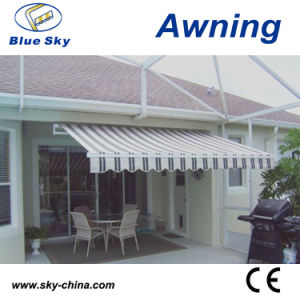 Motorized Retractable Balcony Awnings for Door (B2100) pictures & photos
