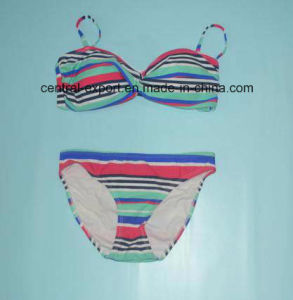 Fashion Women Swimwear with Stripes pictures & photos