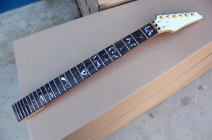 Hanhai Music / Electric Guitar Neck with Tree of Life Abalone Fret Marks Inlay pictures & photos