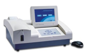 Hospital Laboratory Semi-Auto Biochemistry Analyzer pictures & photos