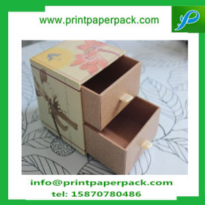 Bespoke Luxury Printing Recycled Materials Feature Paper Packaging Box Storage Box with Drawer pictures & photos
