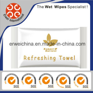 Refreshing Wet Cotton Towels for Restaurant or Airline pictures & photos