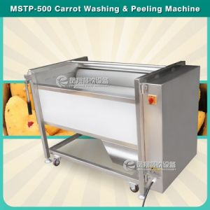 Mstp-500 Fresh Ginger/Potato Washer and Peeler Machine pictures & photos