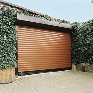 Safe Aluminum Roller Garage Door with High Quality pictures & photos