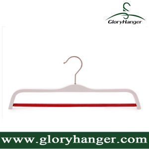 Wholesale Fashion White Plywood Hanger with Matel Hook pictures & photos