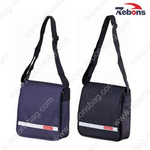 600d Polyester Fabric Vertical Cross Body Messenger Bags pictures & photos