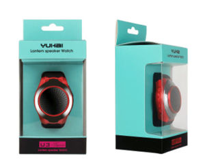 Handsfree LED Flashing Lights Bluetooth Speaker Portable Android Smart Watch pictures & photos