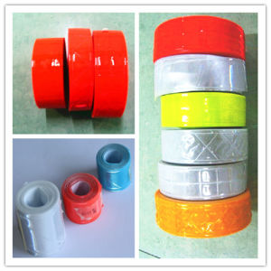 High Visiblity PVC Reflective Tape for Safety Vest pictures & photos