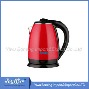 1.8 L Colourful Electric Kettle Hotel Water Kettle Stainless Steel Kettle Sf-2007 (Blue) pictures & photos