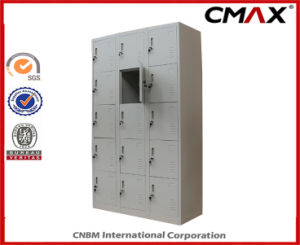 Steel Locker 15-Doors Locker Metal Dormitory Gym Wardrobe Cube Lockers Cmax-SL15-001 pictures & photos