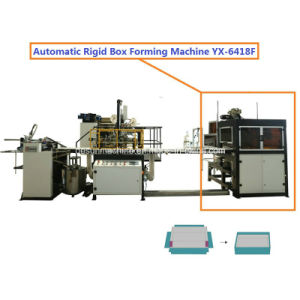 Yx-6418f High Speed Automatic Rigid Box Forming/Molding/Wrapping Machine pictures & photos