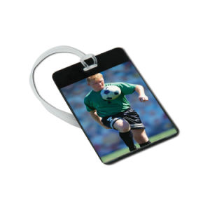 Good Quality Rubber Silicone Luggage Tag with Printing Custom Logo pictures & photos