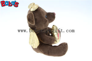 Chocolate Angel Teddy Bear Toy Hot Sale for Overseas Market Bos 1115 pictures & photos
