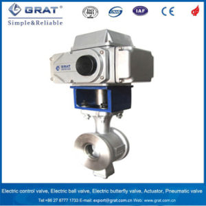 Metal Seat Electric Flow Control Valve pictures & photos