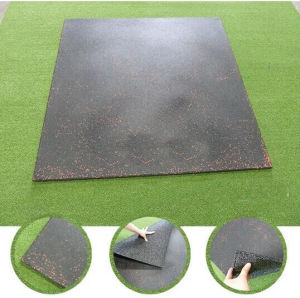 Rubber Floor Tile, Recycle Rubber Tile, Outdoor Playground Rubber Tiles Colorful Rubber Paver pictures & photos