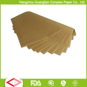 Unbleached 460X710cm Bakery Greaseproof Parchment Paper Sheets pictures & photos