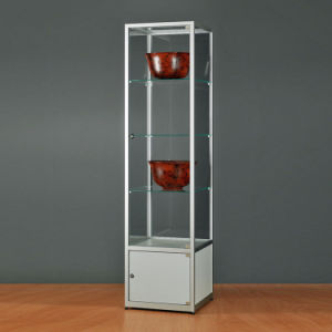 4 Layers Acrylic Storage Display Stand/Acrylic Floor Type Display Rack pictures & photos