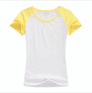 Lady′s Running Quick Dry T-Shirt pictures & photos
