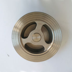 API Stainless Steel 316 Wafer Check Valve pictures & photos