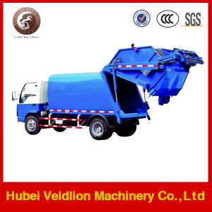 Dongfeng 4X2 Chassis 8m3/8cbm Compressing Garbage Truck pictures & photos