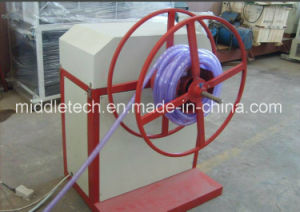 Plastic Soft PVC/SPVC Fiber Reinforced Tube Extrusion Line pictures & photos