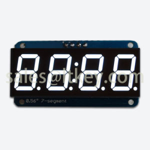 0.56 Inch 4 Digits 7 Segment Clock LED Display pictures & photos