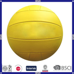 Promotional Yellow PVC Size 4# Volleyball pictures & photos