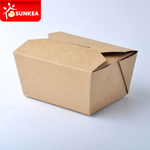 Disposable Printed Paper Custom Size Food Boxes pictures & photos