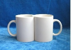 Round Handle Sublimation Mug Used to Transfer Individual Design pictures & photos