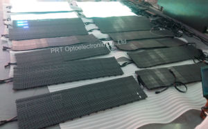 High Brightness Flexible LED Strip Video Curtain Screen (P10, P16, P20) pictures & photos