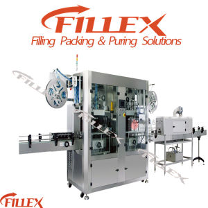 Double Head Sleeve Labeling Machine pictures & photos