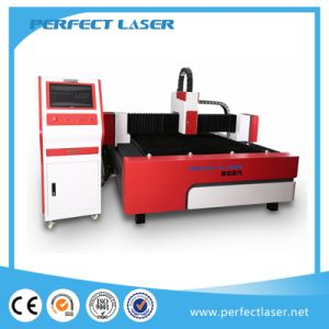 300W Stainless Steel Sheet Metal Fiber Metal Cutting Machine pictures & photos