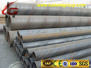 Spiral Steel Tube ASTM A53 SSAW Spiral Welded Steel Line Pipe, API 5L Gr. X42 Drainage Steel Tubes
