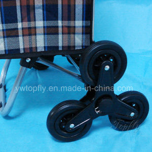 Plastic Three 3 Wheels for Climbing Stair Trolley & Cart pictures & photos