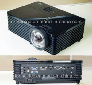 3D Short Focus DLP Projector with RJ45 USB Teaching Digital Projector pictures & photos