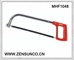 High Quality Hacksaw Frame Oval Tubular Hacksaw Frame with Aluminium Handle pictures & photos