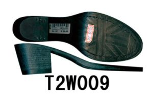 Fashion Style Women′s Leather Shoe Sole TPR Sole (T2W009) pictures & photos