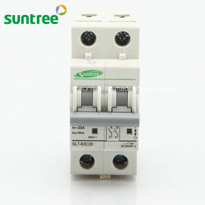 2 Pole DC800V DC Solar Electronic Circuit Breaker pictures & photos