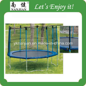Newest Trampoline Bed with Enclosure in The Garden pictures & photos
