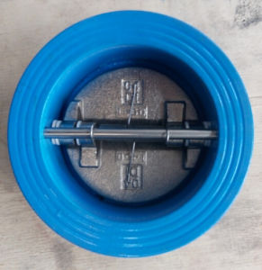 Wafer Type Butterfly Check Valve pictures & photos