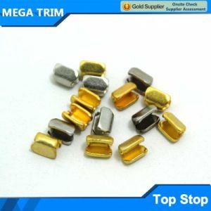 Brass Metel U Shape Zipper Top Stop pictures & photos