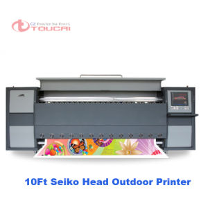 3200mm Large Solvent Printer with 8PCS Seiko 510/50pl Head