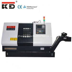 Good Price China High Precision Flat Bed CNC Lathe (KDCL15) pictures & photos