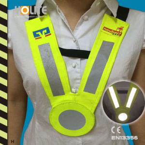 Reflective Collar Vest with CE En3356 for Roadway Safety pictures & photos