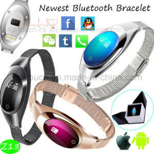 Elegant Smart Bluetooth Bracelet with Heart Rate Monitor (Z18) pictures & photos