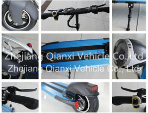 (QX-1001) Portable Aluminium Alloy Electric Kick Scooter pictures & photos