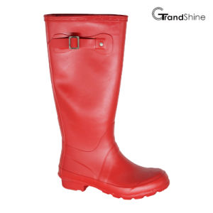 Wellie Rainboot with Decorative Strap pictures & photos