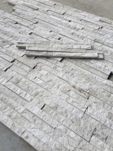 China Grey Marble Wall Cladding Manufactured Conrber Culture Stone pictures & photos