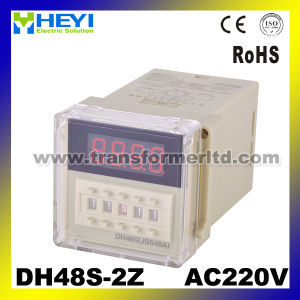 220V Time Relay Digital Timer Relay Dh48s-2z pictures & photos